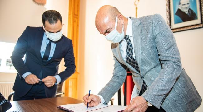 Başkan Soyer, Belediye İş Sendikası ile ek protokol imzaladı