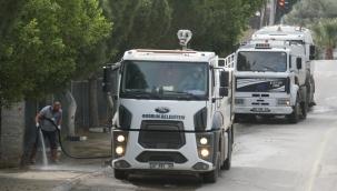 Bodrum'da Günde 250-300 Kilometre Yol Süpürülüyor