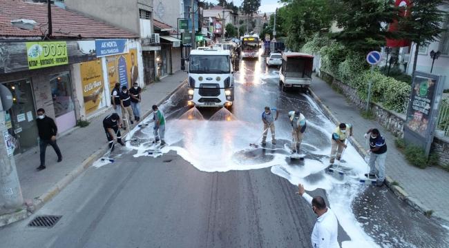 Buca'nın caddeleri tam kapanma sonrasına hazır