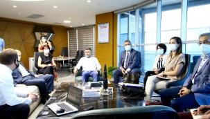 İzmir Büyükşehir Belediyesinden Bayraklı'ya Teleferik Projesi