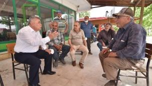 Torbalı Belediye Başkanı Mithat Tekin, sahaya indi