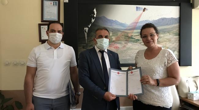Beydağ Belediyesi Baraj Önü Sera Projesi İçin Tapuyu Aldı