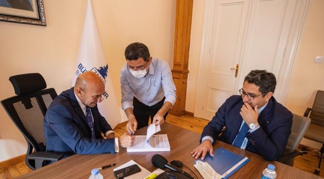 Gaziemir'de birinci etap için imzalar atıldı