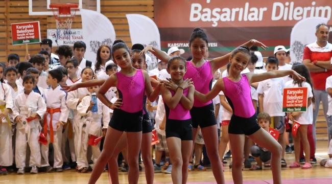 Karşıyaka'da spor kursları başladı!