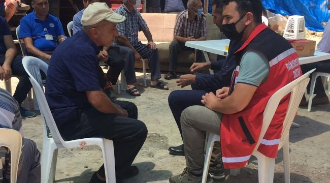 Bakan Yanık'tan, Marmaris yangınında vefat eden Şahin Akdemir'in ailesine başsağlığı telefonu