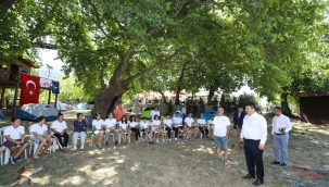 Başkan Kılıç'tan kamp tutkunlarına davet var
