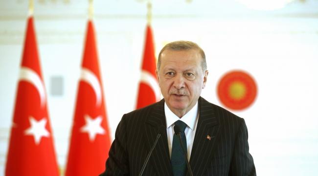 """Cumhurbaşkanı Erdoğan: """"Türkiye Cumhuriyeti devletinin tüm imkanları, 84 milyon vatandaşımızın emrindedir"""""""