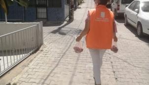 Kuşadası'nda Sosyal Belediyecilik Mesaisi Bayramda da Sürdü
