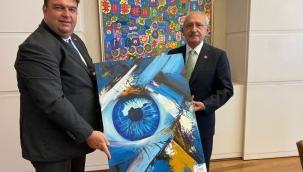 Başkan Yetişkin CHP lideri Kılıçdaroğlu'nu ziyaret etti