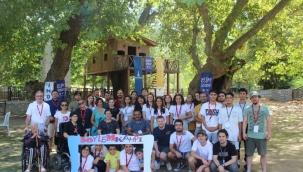 Büyükşehir'den engelli farkındalığı için söylem kampı