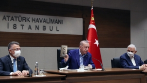 Cumhurbaşkanı Erdoğan, BM 76. Genel Kurulu'na katılmak üzere ABD'ye gitti