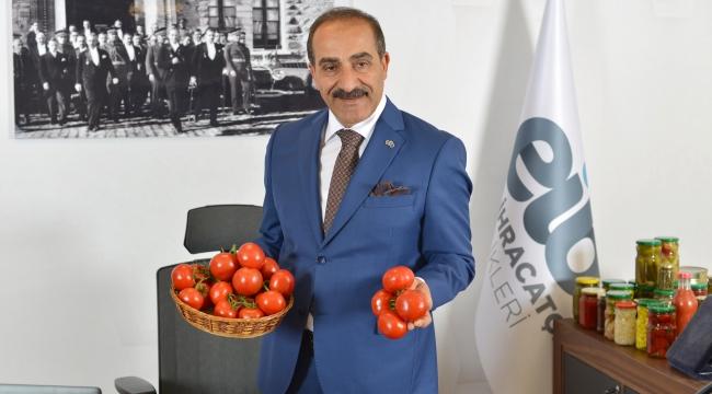 Dünya'nın tercihi Türk kuru domatesi oldu