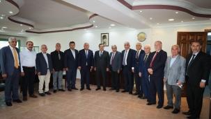 Esnaftan Başkan Batur'a Destek Teşekkürü:Bize Güç Kuvvet Verdiniz