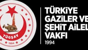 TÜGŞAV İzmir Şubesinden Gaziler Günü Mesajı