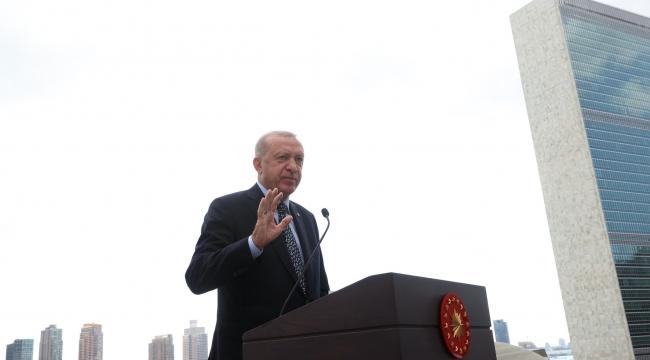 """""""Türkevi Binamız, Birleşmiş Milletlere, çok taraflılığa, adalete ve barışa olan inancımızın da bir sembolüdür"""""""
