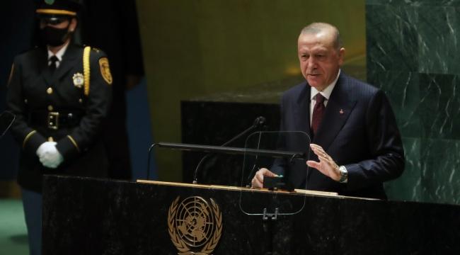 """""""Türkiye, herkes için daha güvenli, huzurlu, müreffeh, hakkaniyetli bir dünya yolunda atılan her adımın yanında olmuştur"""""""