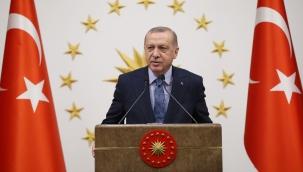 """Cumhurbaşkanı Erdoğan: """"Asya merkezli üretim ve tedarik ağına alternatif destinasyon arayışlarında ülkemizin isminin ön plana çıkması önemli bir kazanımdır"""""""