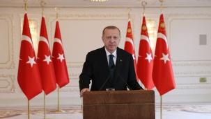 """Cumhurbaşkanı Erdoğan: """"Medeniyetler beşiği olan Akdeniz'i büyük bir mülteci kabristanına çeviren sebeplerden biri de çevrenin tahrip olmasıdır"""""""