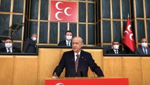 """Devlet Bahçeli; """"Kılıçdaroğlu'nun bürokrasiyi tehdit mesajı vesayetçi bir söylemdir"""""""