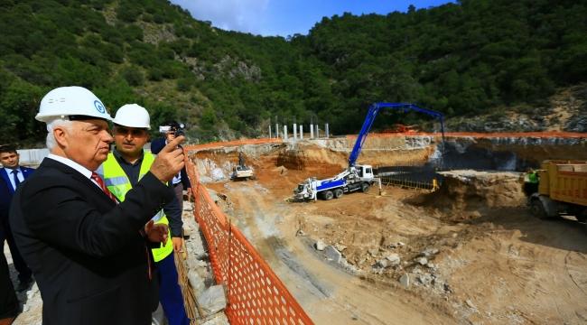 """Muğla Büyükşehir Belediye Başkanı Gürün; """"Bodrum'un En Büyük Arıtma Tesisi projemizin %60'ını tamamladık"""""""