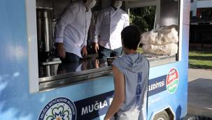 Üniversite Öğrencilerinin Sabah Çorbası Muğla Büyükşehirden